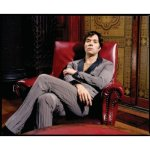 Rufus Wainwright seated throne